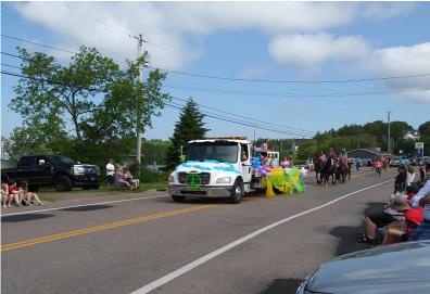 towing parade
