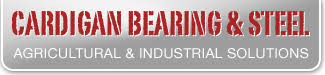 cardigan bearing and steel logo sponsor